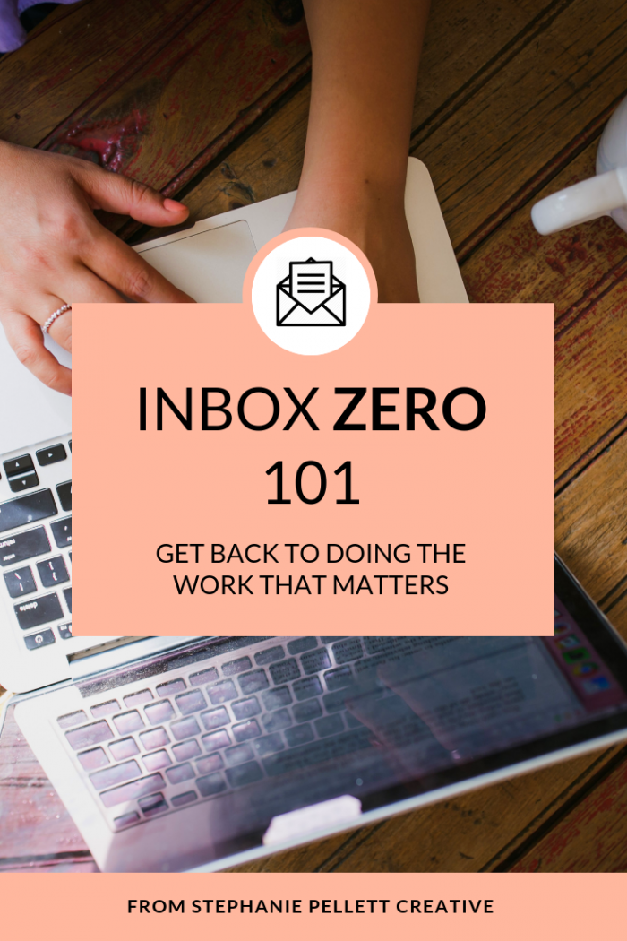 Inbox Zero 101 – A Workshop From Stephanie Pellett Creative