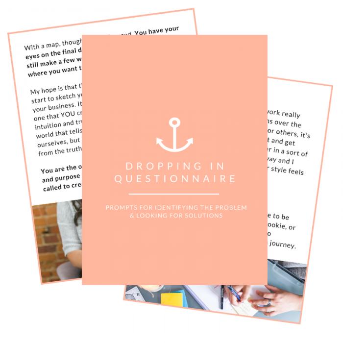 Dropping In Questionnaire – Stephanie Pellett Creative