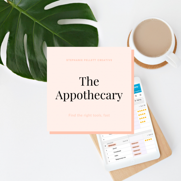 The Appothecary – Stephanie Pellett Creative