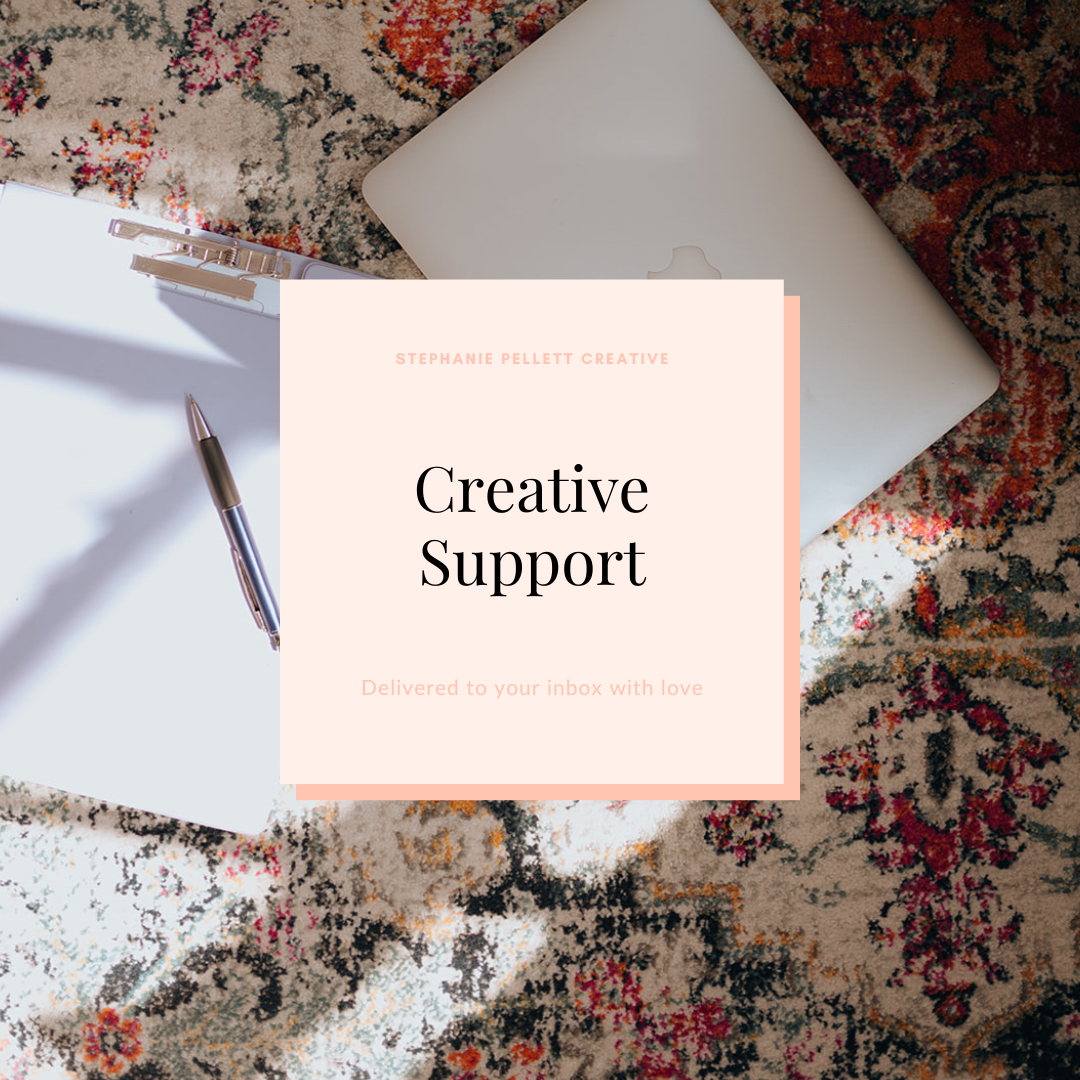 Creative Support – Stephanie Pellett Creative