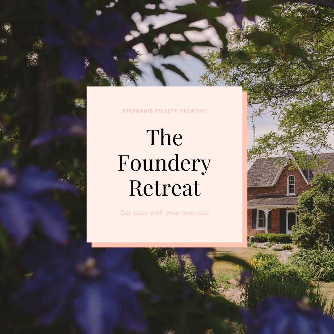 The Foundery Retreat – Stephanie Pellett Creative